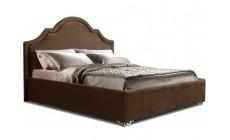 Мягкая кровать Римини Браун