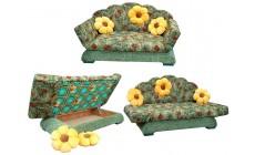 Детский диван Цветы